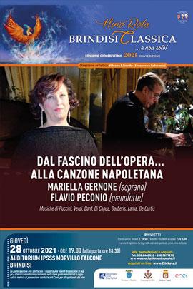 Dal fascino dell'Opera… alla Canzone napoletana