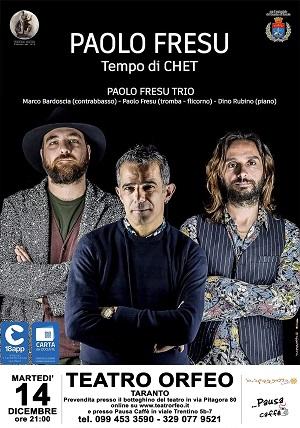 PAOLO FRESU TRIO - TEMPO DI CHET