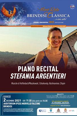 Piano recital di Stefania Argentieri