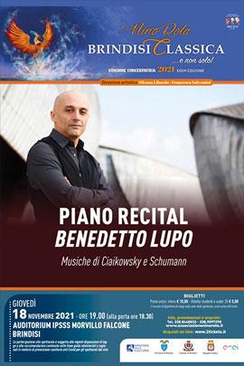Piano recital di Benedetto Lupo